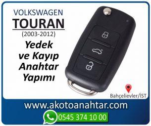 Volkswagen VW Touran Araba Oto Otomobil Car Sustalı Yedek Kayıp Kumanda Kumandalı İmmobilizer Anahtar Anahtarı Çilingir Anahtarcı Acil Kopyalama Kodlama Locksmith Key Bahçelievler İstanbul Kayboldu Dönmüyor Okumuyor Orjinal Kontak Tamir Tamiri Çip