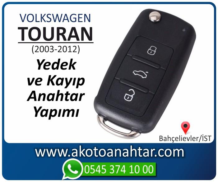 volkswagen vw touran anahtari anahtar key yedek yaptirma fiyati kopyalama cogaltma kayip 2003 2004 2005 2006 2007 2008 2009 2010 2011 2012 model - VW Volkswagen Touran Anahtarı | Yedek ve Kayıp Anahtar Yapımı