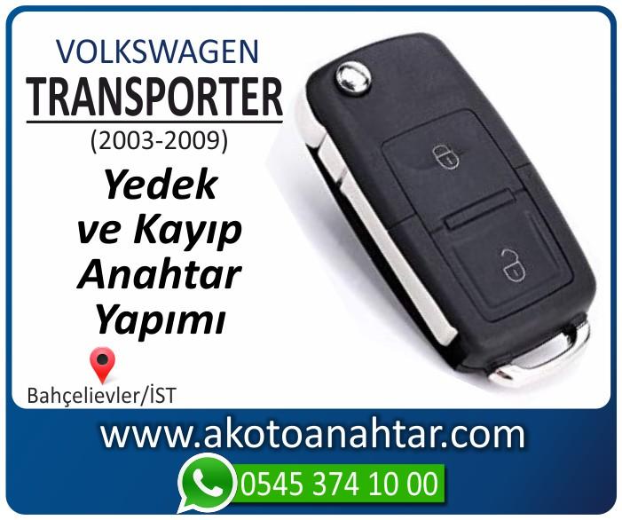 volkswagen vw transporter anahtari anahtar key yedek yaptirma fiyati kopyalama cogaltma kayip 2003 2004 2005 2006 2007 2008 2009 model - VW Volkswagen Transporter Anahtarı | Yedek ve Kayıp Anahtar Yapımı