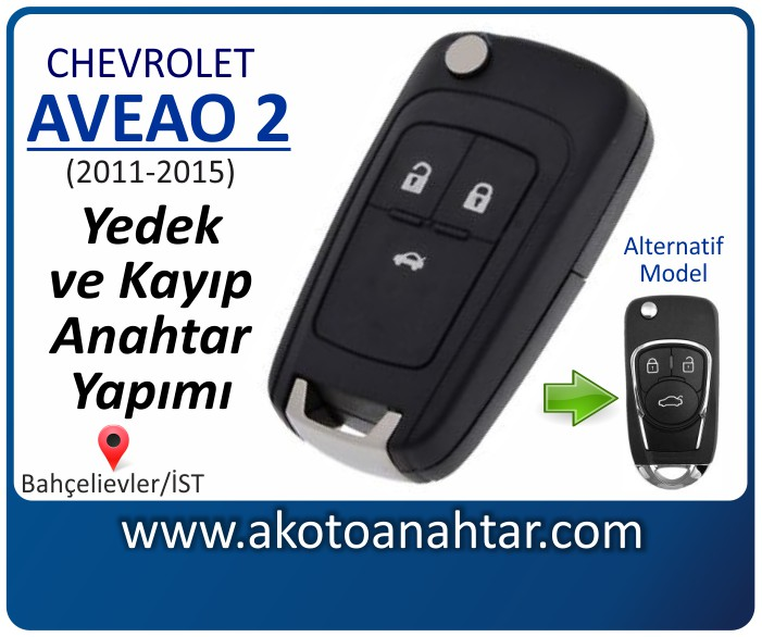 chevrolet aveo 2 anahtari anahtar key yedek yaptirma fiyati kopyalama cogaltma kayip 2011 2012 2013 2014 2015 model - Chevrolet Aveo 2 Anahtarı | Yedek ve Kayıp Anahtar Yapımı