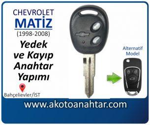 Chevrolet Matiz Araba Oto Otomobil Car Sustalı Yedek Kayıp Kumanda Kumandalı İmmobilizer Anahtar Anahtarı Çilingir Anahtarcı Acil Kopyalama Kodlama Locksmith Key Bahçelievler İstanbul Kayboldu Dönmüyor Okumuyor Orjinal Kontak Tamir Tamiri Çip