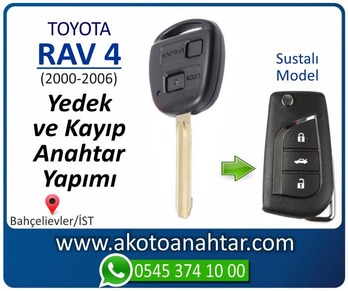 toyota rav 4 anahtari anahtar key yedek yaptirma fiyati kopyalama cogaltma kayip 2000 2001 2002 2003 2004 2005 2006 model - Toyota Rav 4 Anahtarı   Yedek ve Kayıp Anahtar Yapımı