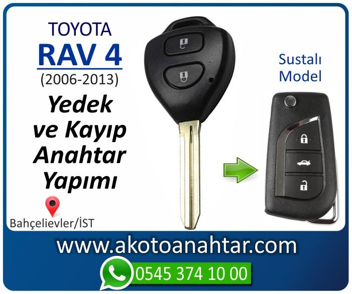toyota rav 4 anahtari anahtar key yedek yaptirma fiyati kopyalama cogaltma kayip 2006 2007 2008 2009 2010 2011 2012 2013 model - Toyota Rav 4 Anahtarı   Yedek ve Kayıp Anahtar Yapımı