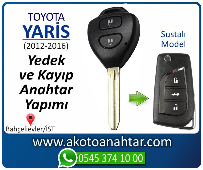 toyota yaris anahtari anahtar key yedek yaptirma fiyati kopyalama cogaltma kayip 2012 2013 2014 2015 2016 model - Toyota Yeni Yaris Anahtarı | Yedek ve Kayıp Anahtar Yapımı