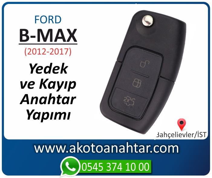 Ford B Max bmax anahtari anahtar key yedek yaptirma fiyati kopyalama cogaltma kayip 2012 2013 2014 2015 2016 2017 model - Ford B-Max Anahtarı | Yedek ve Kayıp Anahtar Yapımı
