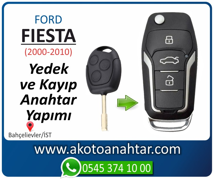 Ford Fiesta anahtari anahtar key yedek yaptirma fiyati kopyalama cogaltma kayip 2000 2001 2002 2003 2004 2005 2006 2007 2008 2009 2010 model - Ford Fiesta Anahtarı | Yedek ve Kayıp Anahtar Yapımı