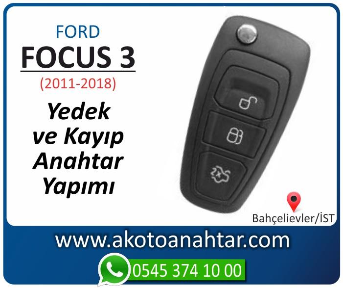 Ford Focus 3 anahtari anahtar key yedek yaptirma fiyati kopyalama cogaltma kayip 2011 2012 2013 2014 2015 2016 2017 2018 model - Ford Focus 3 Anahtarı | Yedek ve Kayıp Anahtar Yapımı