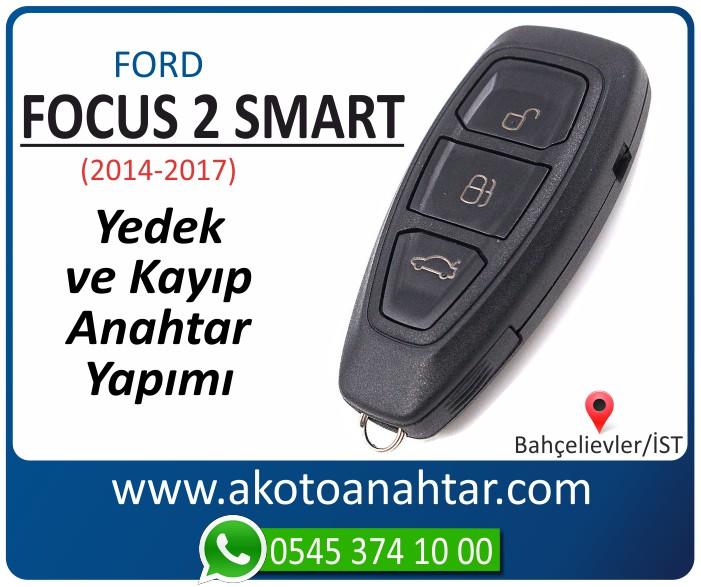 Ford Focus 3 keyless anahtari anahtar key yedek yaptirma fiyati kopyalama cogaltma kayip 2014 2015 2016 2017 2018 model - Ford Focus 3 Smart Keyless Anahtarı | Yedek ve Kayıp Anahtar Yapımı