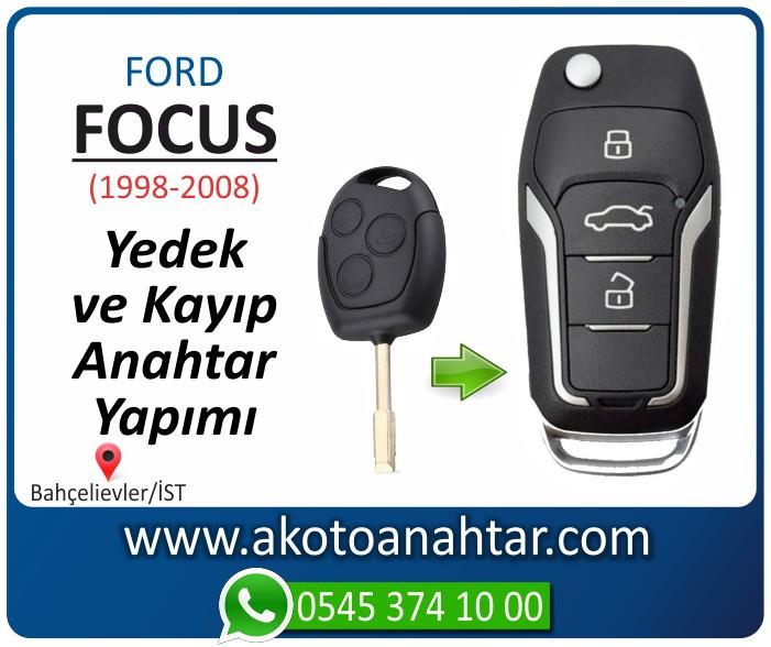Ford Focus anahtari anahtar key yedek yaptirma fiyati kopyalama cogaltma kayip 1998 1999 2000 2001 2002 2003 2004 2005 2006 2007 2008 model - Ford Focus Anahtarı | Yedek ve Kayıp Anahtar Yapımı