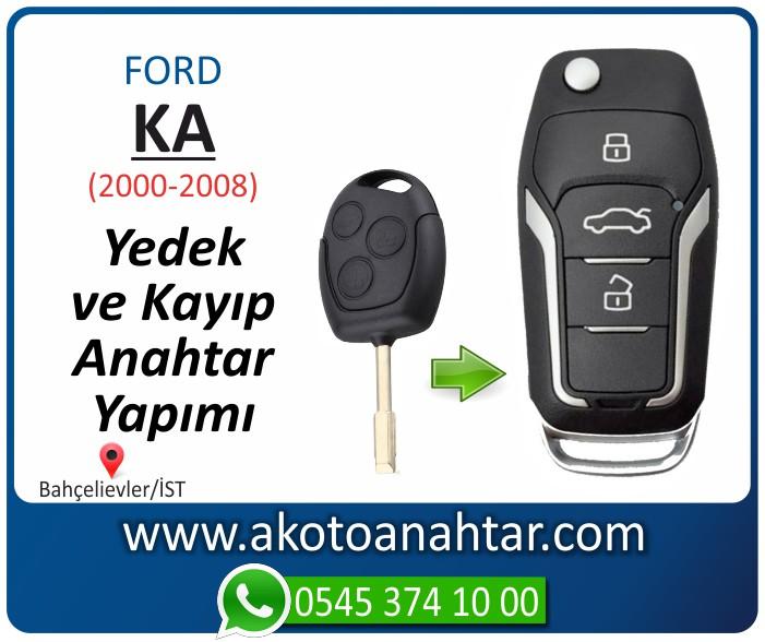 Ford Ka anahtari anahtar key yedek yaptirma fiyati kopyalama cogaltma kayip 2000 2001 2002 2003 2004 2005 2006 2007 2008 model - Ford Ka Anahtarı | Yedek ve Kayıp Anahtar Yapımı