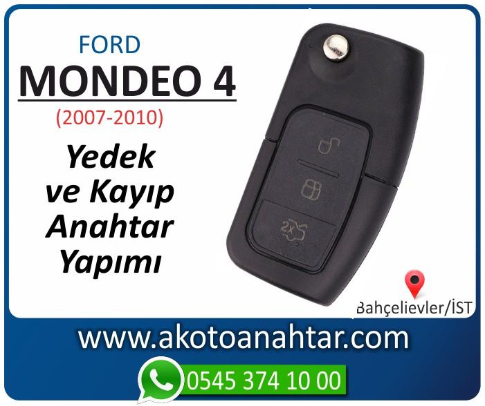 Ford Mondeo 4 anahtari anahtar key yedek yaptirma fiyati kopyalama cogaltma kayip 2007 2008 2009 2010 model - Ford Mondeo 4 Anahtarı | Yedek ve Kayıp Anahtar Yapımı