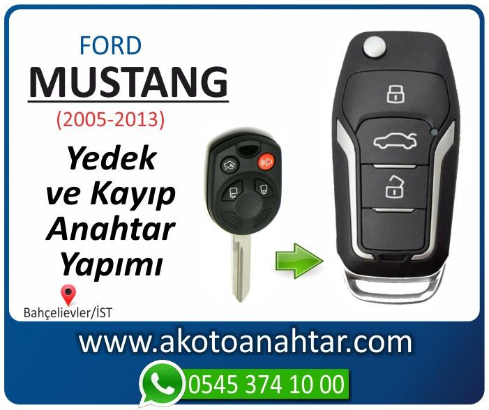 Ford Mustang anahtari anahtar key yedek yaptirma fiyati kopyalama cogaltma kayip 2005 2006 2007 2008 2009 2010 2011 2012 2013 model - Ford Mustang Anahtarı | Yedek ve Kayıp Anahtar Yapımı