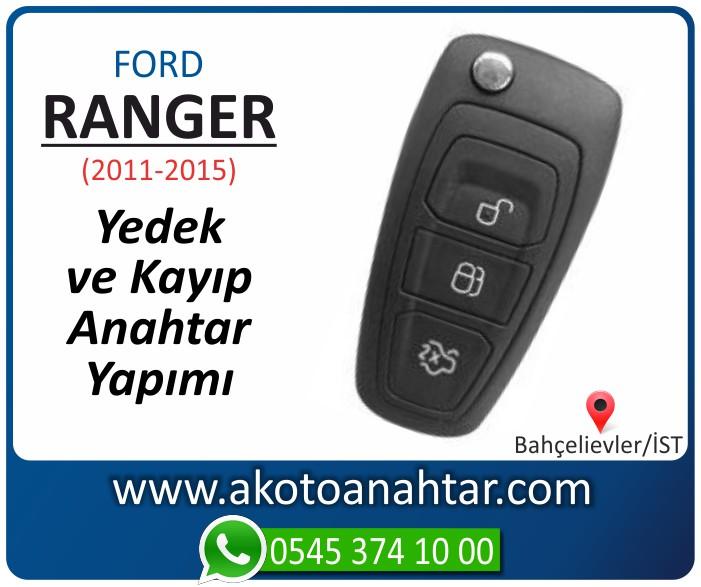 Ford Ranger anahtari anahtar key yedek yaptirma fiyati kopyalama cogaltma kayip 2001 2011 2012 2013 2014 2015 model - Ford Ranger Sustalı Anahtarı | Yedek ve Kayıp Anahtar Yapımı