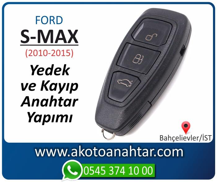 Ford S max keyless anahtari anahtar key yedek yaptirma fiyati kopyalama cogaltma kayip 2010 2011 2012 2013 2014 2015 model - Ford S-Max Smart Anahtarı | Yedek ve Kayıp Anahtar Yapımı