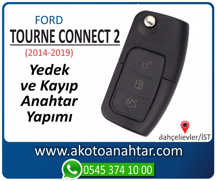 Ford Transit Tourneo Connect 2 anahtari anahtar key yedek yaptirma fiyati kopyalama cogaltma kayip 2014 2015 2016 2017 2018 2019 model - Ford Transit Tourneo Connect 2 Anahtarı | Yedek ve Kayıp Anahtar Yapımı