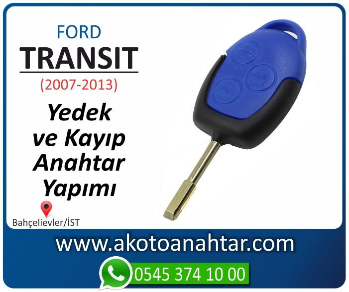Ford Transit anahtari anahtar key yedek yaptirma fiyati kopyalama cogaltma kayip 2007 2008 2009 2010 2011 2012 2013 model - Ford Transit Mavi Anahtarı   Yedek ve Kayıp Anahtar Yapımı