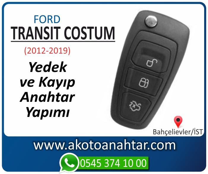 Ford Transit costum anahtari anahtar key yedek yaptirma fiyati kopyalama cogaltma kayip 2012 2013 2014 2015 2016 2017 2018 2019 model - Ford Transit Costum Anahtarı | Yedek ve Kayıp Anahtar Yapımı