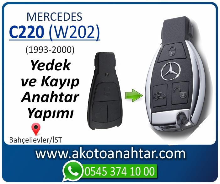 Mercedes C220 W202 Anahtari 1998 1999 2000 - Mercedes C220 (W202) Anahtarı | Yedek ve Kayıp Anahtar Yapımı