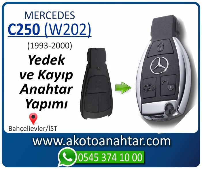 Mercedes C250 W202 Anahtari 1998 1999 2000 - Mercedes C250 (W202) Anahtarı | Yedek ve Kayıp Anahtar Yapımı