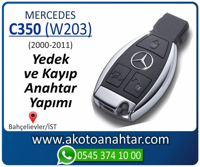 Mercedes C350 W203 Anahtari 2000 2001 2002 2003 2004 2005 2006 2007 2008 2009 2010 2011 - Mercedes C350 (W203) Anahtarı | Yedek ve Kayıp Anahtar Yapımı