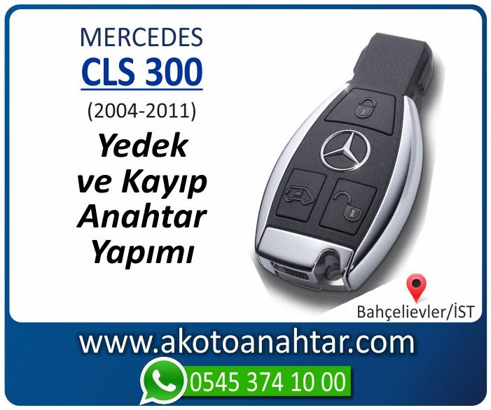 Mercedes CLS300 W219 Anahtari 2004 2005 2006 2007 2008 2009 2010 2011 - Mercedes CLS300 (W219) Anahtarı | Yedek ve Kayıp Anahtar Yapımı