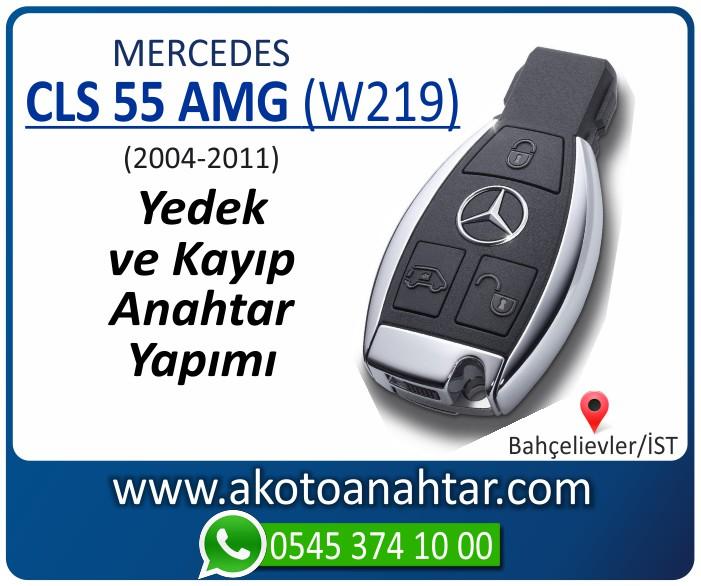 Mercedes CLS55 AMG W219 Anahtari 2004 2005 2006 2007 2008 2009 2010 2011 - Mercedes CLS55 (W219) Anahtarı | Yedek ve Kayıp Anahtar Yapımı