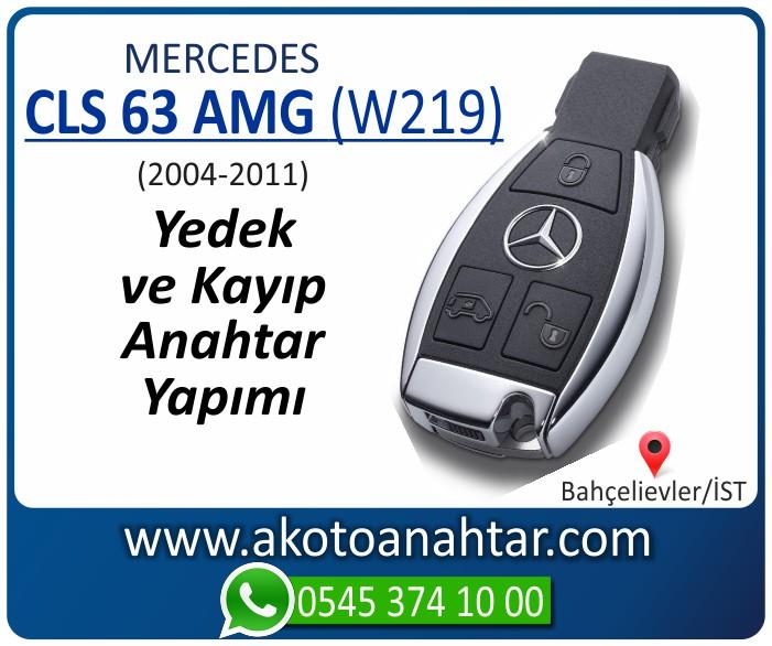Mercedes CLS63 AMG W219 Anahtari 2004 2005 2006 2007 2008 2009 2010 2011 - Mercedes CLS63 (W219) Anahtarı | Yedek ve Kayıp Anahtar Yapımı