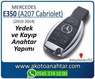 Mercedes E350 (A207 Cabriolet) Araba Oto Otomobil Car Yedek Kayıp Kumanda İmmobilizer Anahtar Anahtarı Çilingir Anahtarcı Acil Kopyalama Kodlama Locksmith Key Bahçelievler İstanbul Kayboldu Dönmüyor Okumuyor Orjinal Kontak Tamir Tamiri Çip
