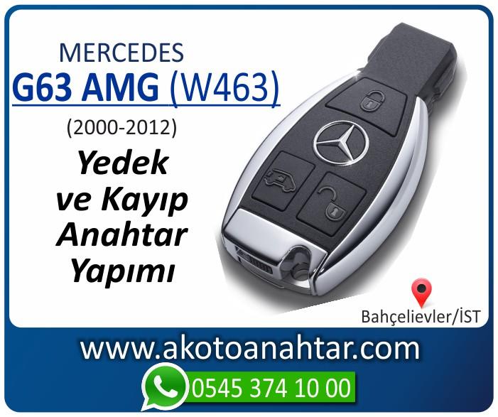 Mercedes G63 AMG W463 Anahtari 2000 2001 2002 2003 2004 2005 2006 2007 2008 2009 2010 2011 2012 - Mercedes G63 AMG (W463) Anahtarı   Yedek ve Kayıp Anahtar Yapımı