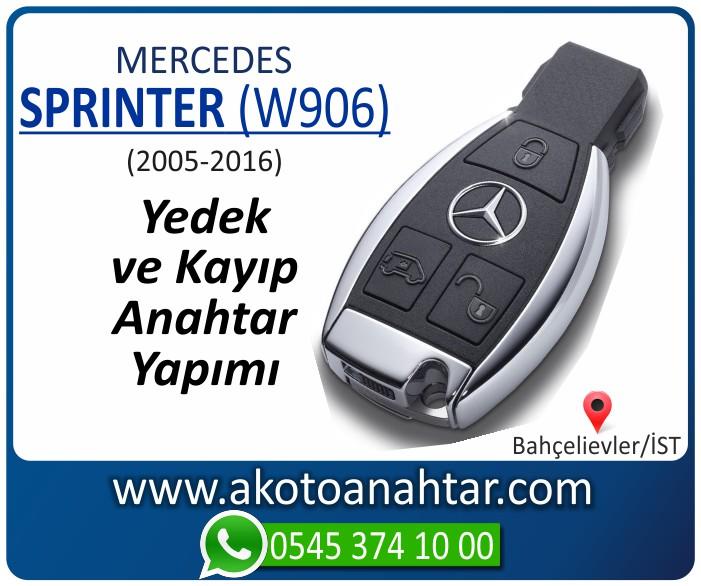 Mercedes Sprinter W906 Anahtari 2005 2006 2007 2008 2009 2010 2011 2012 2013 2014 2015 2016 - Mercedes Sprinter Anahtarı | Yedek ve Kayıp Anahtar Yapımı