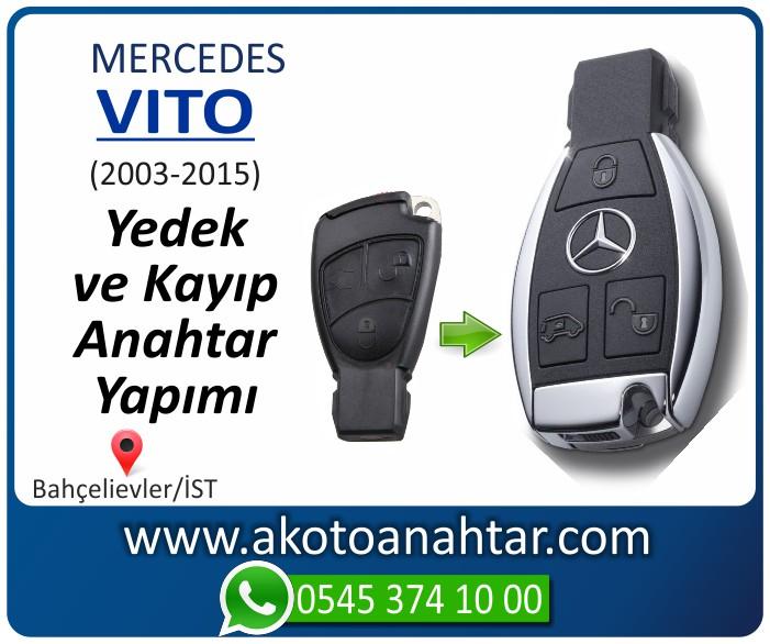 Mercedes Vito Anahtari 2003 2004 2005 2006 2007 2008 2009 2010 2011 2012 2013 2014 2015 - Mercedes Vito Anahtarı | Yedek ve Kayıp Anahtar Yapımı