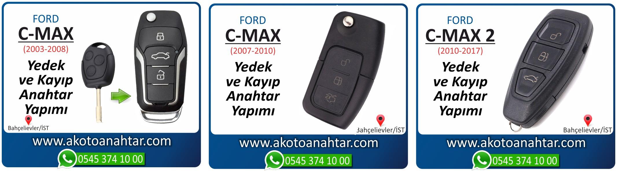 c max cmax anahtari - Ford C-Max 2 Smart Keyless Anahtarı | Yedek ve Kayıp Anahtar Yapımı