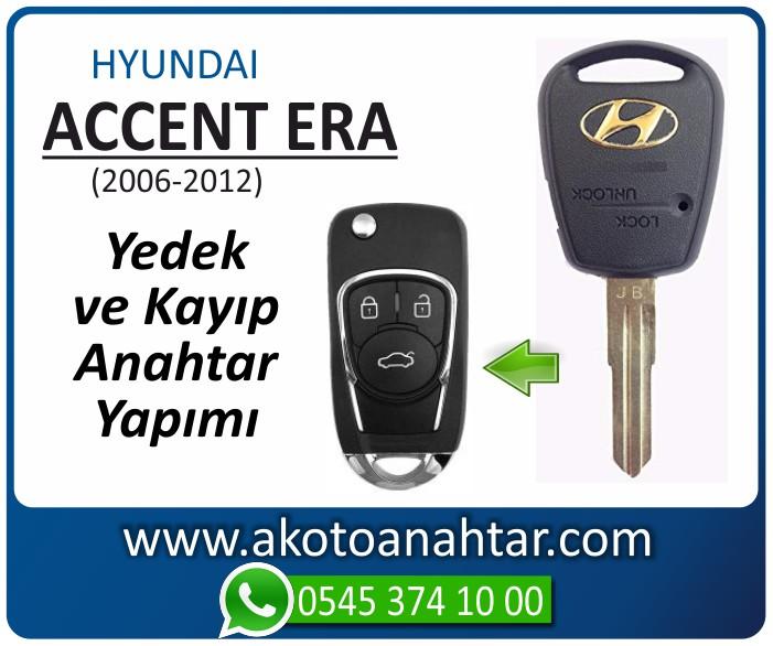 hyundai accent era anahtari anahtar key yedek yaptirma fiyati kopyalama cogaltma kayip 2006 2007 2008 2009 2010 2011 2012 model - Hyundai Accent Era Anahtarı | Yedek ve Kayıp Anahtar Yapımı