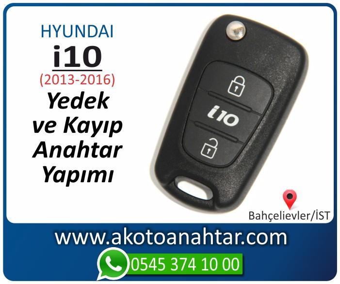 hyundai i10 anahtari anahtar key yedek yaptirma fiyati kopyalama cogaltma kayip 2013 2014 2015 2016 model - Hyundai i10 Anahtarı | Yedek ve Kayıp Anahtar Yapımı