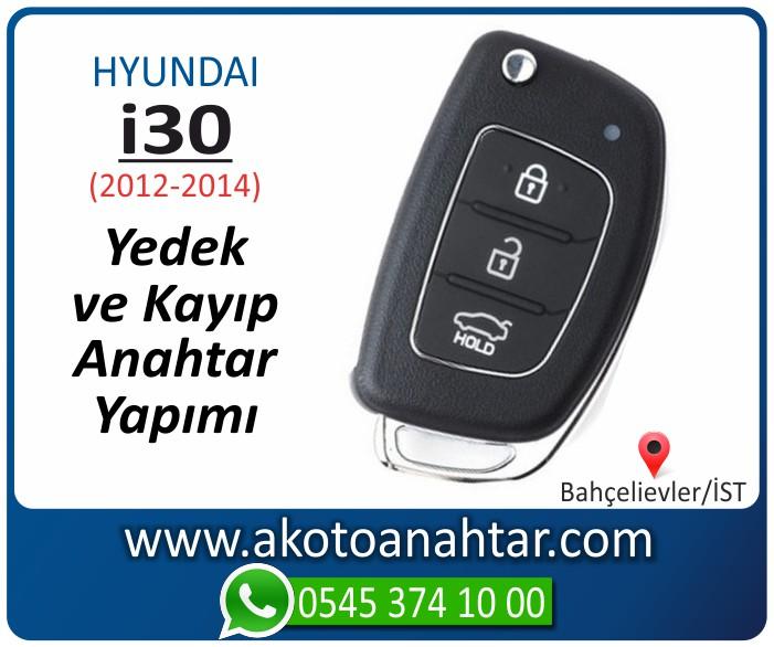 hyundai i30 anahtari anahtar key yedek yaptirma fiyati kopyalama cogaltma kayip 2012 2013 2014 model - Hyundai i30 Anahtarı | Yedek ve Kayıp Anahtar Yapımı