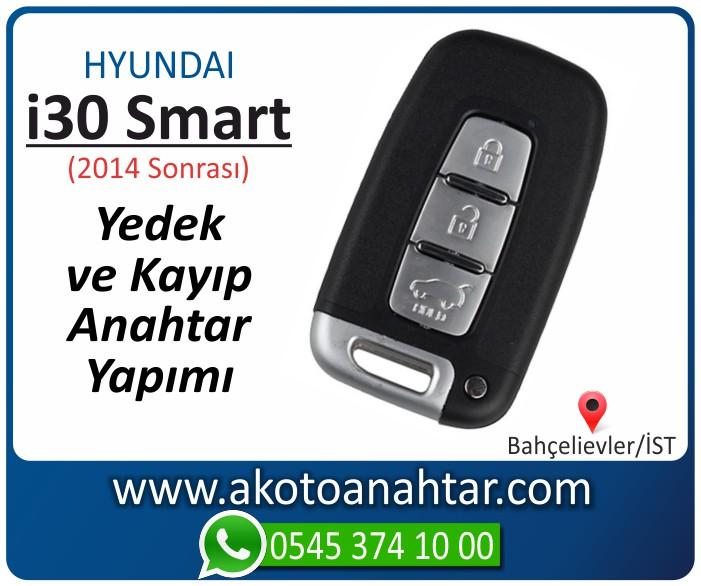 hyundai i30 smart anahtari anahtar key yedek yaptirma fiyati kopyalama cogaltma kayip 2014 2015 2016 2017 2018 model - Hyundai i30 Smart Anahtarı | Yedek ve Kayıp Anahtar Yapımı
