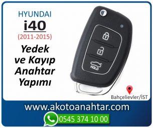 Hyundai i40 Araba Oto Otomobil Car Sustalı Yedek Kayıp Kumanda Kumandalı İmmobilizer Anahtar Anahtarı Çilingir Anahtarcı Acil Kopyalama Kodlama Locksmith Key Bahçelievler İstanbul Kayboldu Dönmüyor Okumuyor Orjinal Kontak Tamir Tamiri Çip