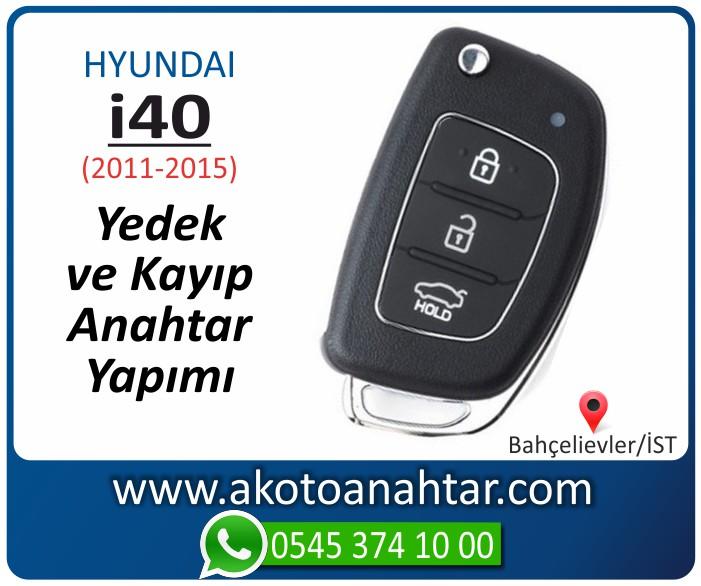 hyundai i40 anahtari anahtar key yedek yaptirma fiyati kopyalama cogaltma kayip 2011 2012 2013 2014 2015 model - Hyundai i40 Anahtarı | Yedek ve Kayıp Anahtar Yapımı