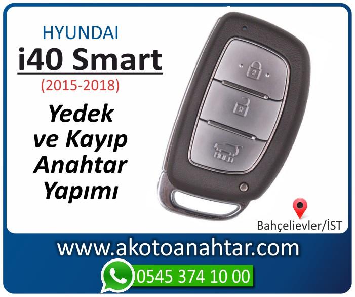 hyundai i40 smart anahtari anahtar key yedek yaptirma fiyati kopyalama cogaltma kayip 2015 2016 2017 2018 model - Hyundai i40 Smart Anahtarı | Yedek ve Kayıp Anahtar Yapımı i 40