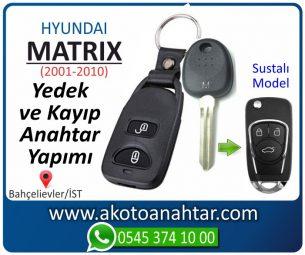 Hyundai Matrix Araba Oto Otomobil Car Sustalı Yedek Kayıp Kumanda Kumandalı İmmobilizer Anahtar Anahtarı Çilingir Anahtarcı Acil Kopyalama Kodlama Locksmith Key Bahçelievler İstanbul Kayboldu Dönmüyor Okumuyor Orjinal Kontak Tamir Tamiri Çip