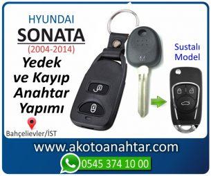 Hyundai Sonata Araba Oto Otomobil Car Sustalı Yedek Kayıp Kumanda Kumandalı İmmobilizer Anahtar Anahtarı Çilingir Anahtarcı Acil Kopyalama Kodlama Locksmith Key Bahçelievler İstanbul Kayboldu Dönmüyor Okumuyor Orjinal Kontak Tamir Tamiri Çip