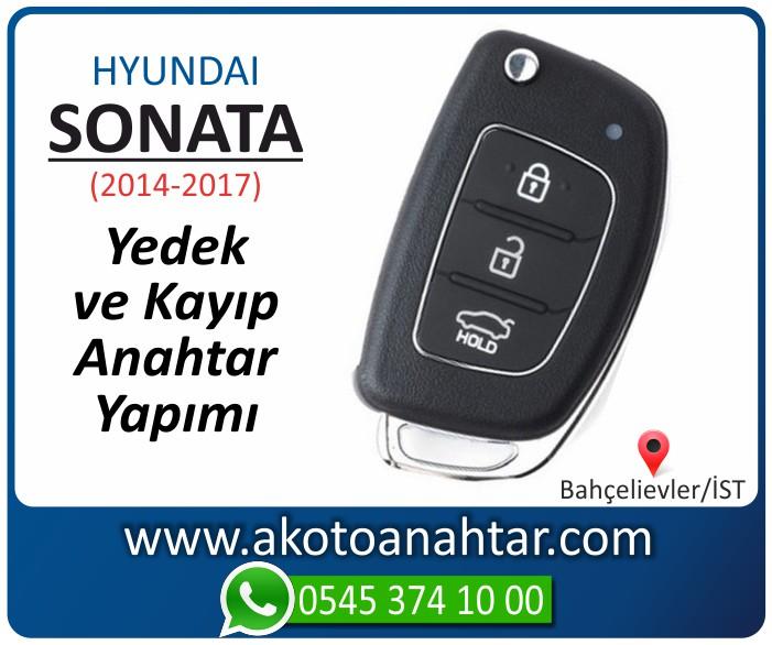 hyundai sonata anahtari anahtar key yedek yaptirma fiyati kopyalama cogaltma kayip 2014 2015 2016 2017 model - Hyundai Sonata Anahtarı | Yedek ve Kayıp Anahtar Yapımı Yeni