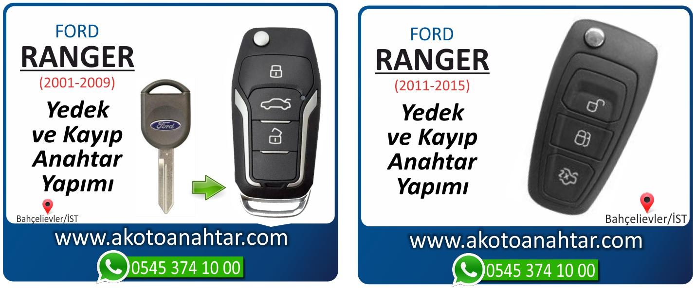 ranger anahtari - Ford Ranger Anahtarı | Yedek ve Kayıp Anahtar Yapımı