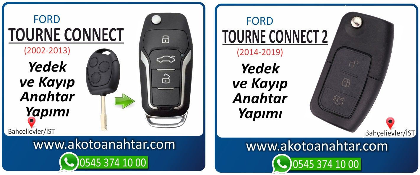 tourneo connect anahtari - Ford Transit Tourneo Connect 2 Anahtarı | Yedek ve Kayıp Anahtar Yapımı