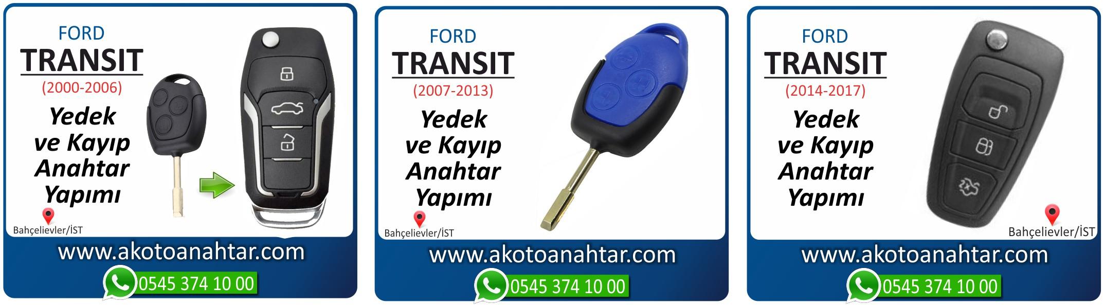 transit anahtari - Ford Transit Anahtarı | Yedek ve Kayıp Anahtar Yapımı