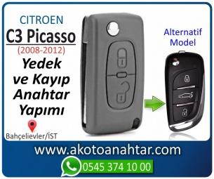 Citroen C3 Picasso Araba Oto Otomobil Car Sustalı Yedek Kayıp Kumanda Kumandalı İmmobilizer Anahtar Anahtarı Çilingir Anahtarcı Acil Kopyalama Kodlama Locksmith Key Bahçelievler İstanbul Kayboldu Dönmüyor Okumuyor Orjinal Kontak Tamir Tamiri Çip