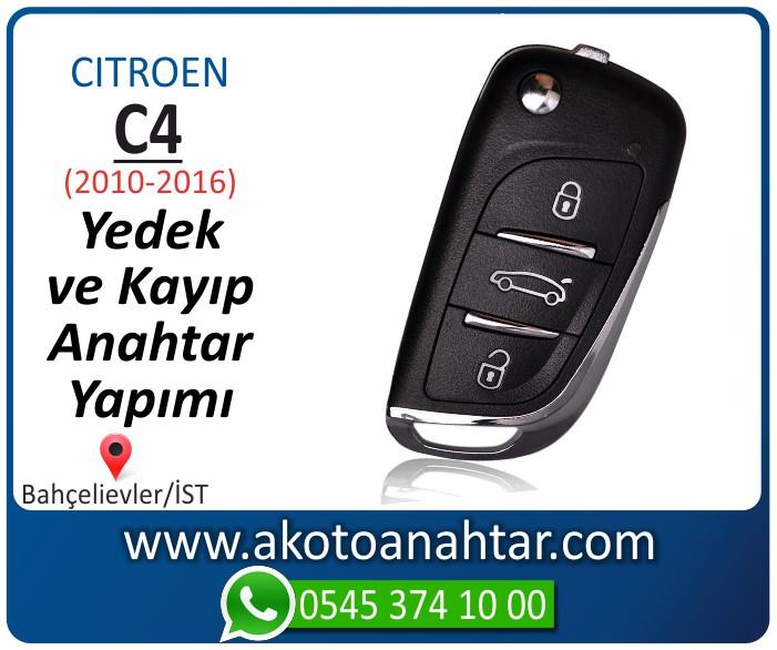 Citroen C4 c 4 anahtari anahtar key yedek yaptirma fiyati kopyalama cogaltma kayip 2010 2011 2012 2013 2014 2015 2016 model - Citroen C4 Sustalı Anahtarı | Yedek ve Kayıp Anahtar Yapımı
