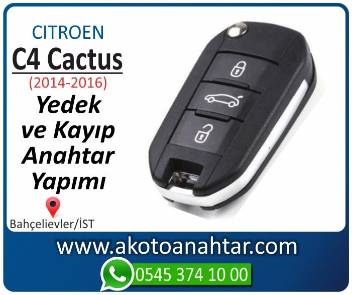 Citroen C4 c 4 cactus anahtari anahtar key yedek yaptirma fiyati kopyalama cogaltma kayip 2013 2014 2015 2016 2017 2018 model - Citroen C4 Cactus Anahtarı | Yedek ve Kayıp Anahtar Yapımı