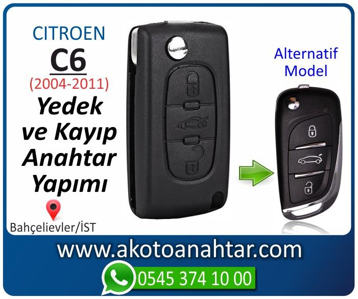 Citroen C6 c 6 anahtari anahtar key yedek yaptirma fiyati kopyalama cogaltma kayip 2001 2002 2003 2004 2005 2006 2007 2008 2009 2010 2011 model - Citroen C6 Anahtarı | Yedek ve Kayıp Anahtar Yapımı