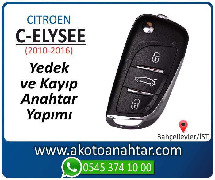 Citroen c eliysee anahtari anahtar key yedek yaptirma fiyati kopyalama cogaltma kayip 2010 2011 2012 2013 2014 2015 2016 model - C-eliysee Anahtarı | Yedek ve Kayıp Anahtar Yapımı